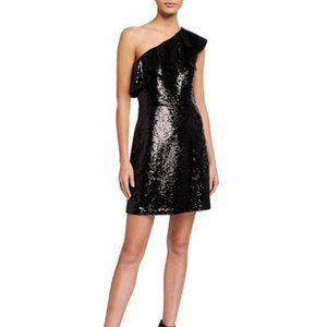 MICHAEL Michael KorsOne-Shoulder Sequined Dress